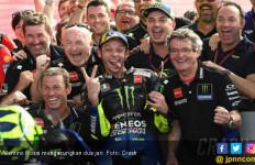 Valentino Rossi, Kenangan Indah di MotoGP Jerez, dan Selebrasi Gila - JPNN.com