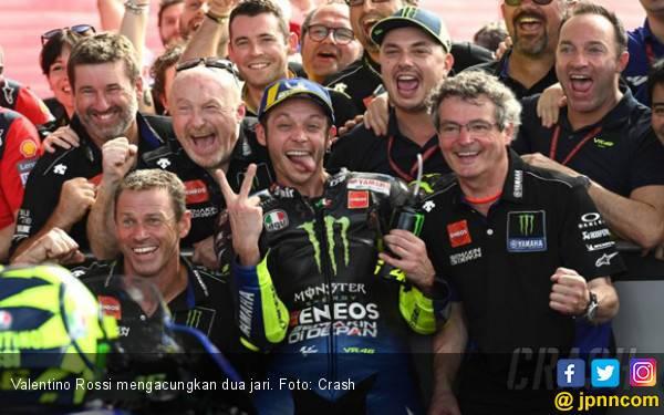 Valentino Rossi Tidak Suka Diidolakan Pembalap MotoGP - JPNN.com
