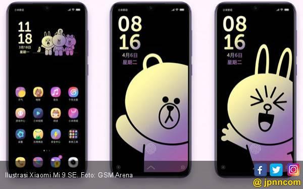 Xiaomi dan Line Merilis Mi 9 SE Brown Bear Edisi Terbatas - JPNN.com
