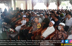 Pesan Panglima TNI Saat Bersilaturahmi dengan Ratusan Alim Ulama - JPNN.com