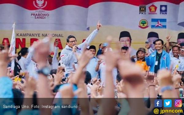 Kampanye Terbuka Sandiaga Uno Disoroti Bawaslu, Ada Apa ya? - JPNN.com