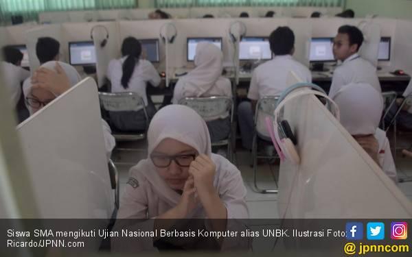 Soal HOTS Masih jadi Momok Siswa Peserta UNBK - JPNN.com