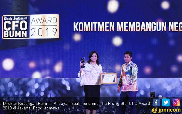 Pelni Raih The Rising Star CFO Award dan IGA Award 2019 - JPNN.com
