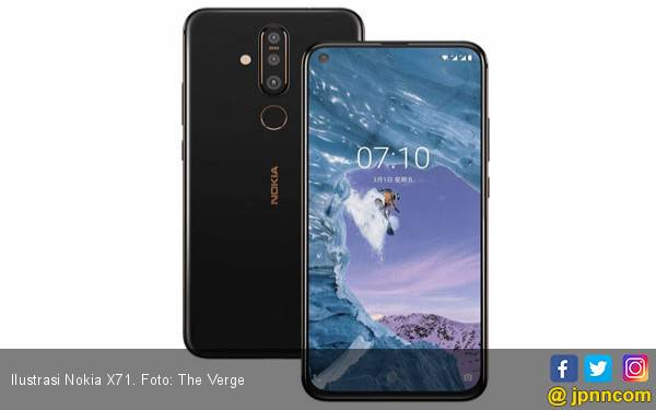 Wow! HMD Bekali Nokia X71 dengan Kamera 48 MP - JPNN.com