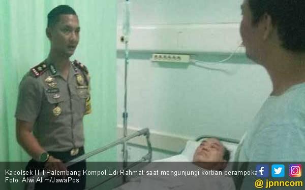 Pasutri Pemilik Toko Emas di Palembang Dibacok Perampok - JPNN.com