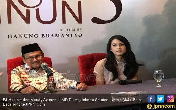 Sebelum Meninggal, BJ Habibie Sempat Tanyakan Sekuel Film Habibie & Ainun - JPNN.com