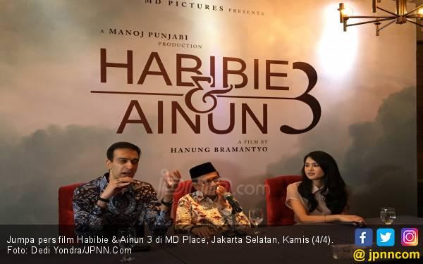 Dibintangi Maudy Ayunda, Film Habibie & Ainun 3 Diproduksi - JPNN.com