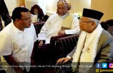 Kiai Ma'ruf Berlebaran di Banten, Sandiaga Masih di Amerika Serikat - JPNN.com
