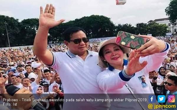 Prabowo - Titiek Soeharto Rujuk, Indonesia Lebih Sejuk - JPNN.com