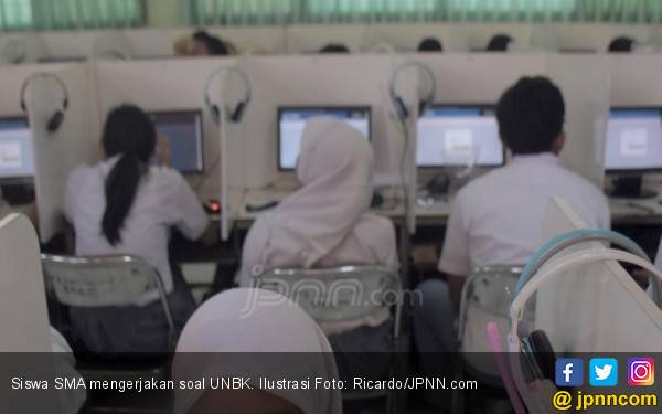 Begini Modus Bocornya Soal UNBK SMA Mata Pelajaran Biologi - JPNN.com