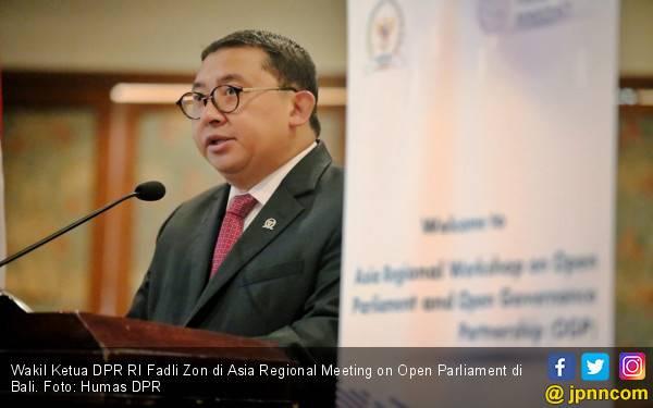 Fadli Zon : Parlemen Kini Lebih Terbuka Lewat DPR Now - JPNN.com