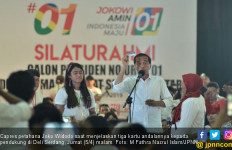Kampanye di Sumut, Jokowi Tiba-Tiba Panggil Menantunya ke Panggung - JPNN.com