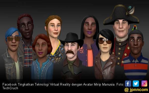 Facebook Tingkatkan Teknologi Virtual Reality dengan Avatar Mirip Manusia - JPNN.com