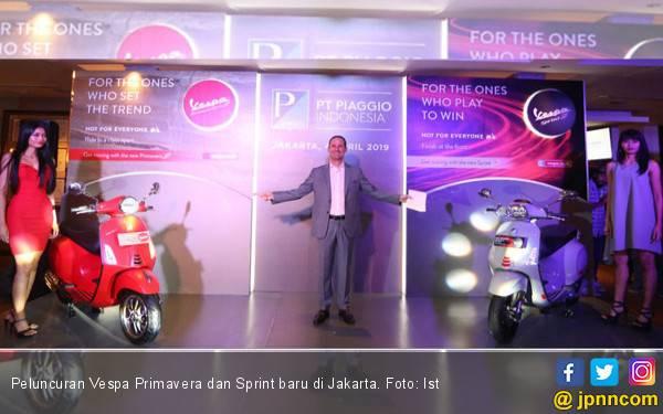 Vespa Primavera dan Sprint Ditingkatkan, Sebegini Harganya - JPNN.com