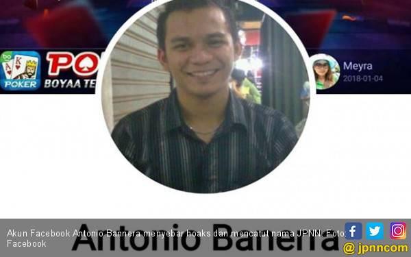 Akun Antonio Banerra Dikendalikan Suami Istri - JPNN.com