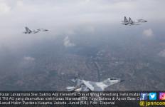 KSAL Ikut Terbang dengan Pesawat Tempur Sukhoi TNI AU - JPNN.com