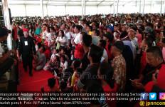 Ribuan Warga Asahan Histeris Saat Dengar Pantun Jokowi - JPNN.com