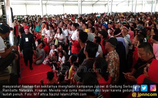 Jokowi Diadang Massa di Asahan - JPNN.com