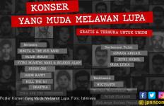 Yang Muda Melawan Lupa: Konser Tribute untuk Aktivis Korban Penculikan Digelar Malam Ini - JPNN.com