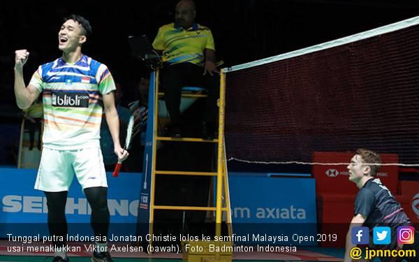 8 Tunggal Putra yang Masih Bertahan di Singapore Open 2019, Jojo Vs Axelsen - JPNN.com