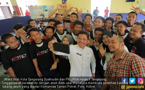 Komunitas Taman Potret Beri Pelatihan pada Penghuni Lapas Anak Tangerang - JPNN.com