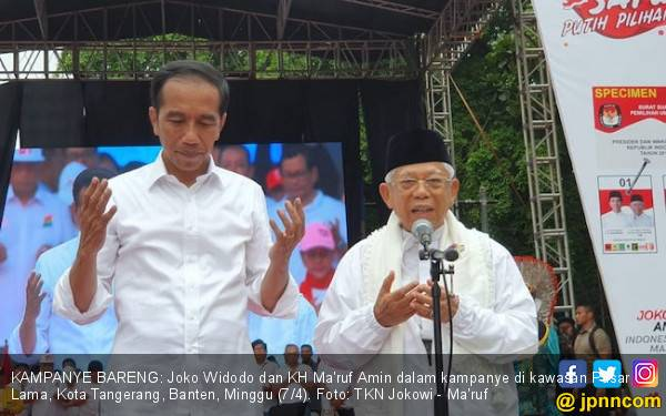 Real Count KPU 15 Persen, Jokowi – Ma'ruf Masih Unggul - JPNN.com