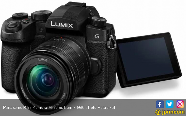 Panasonic Rilis Kamera Mirroles Lumix G95, Ini Harga dan Spesifikasinya - JPNN.com