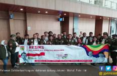 Ratusan Relawan Deklarasi Dukung Jokowi -Ma'ruf di Tangerang. - JPNN.com