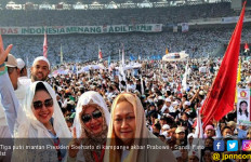 Keluarga Soeharto Sempurnakan Suasana Kampanye Akbar Prabowo - Sandi - JPNN.com