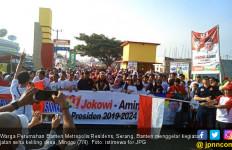 Laksanakan Pesan Jokowi, Ribuan Warga Ikut Jalan Sehat - JPNN.com