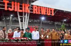 Jokowi Resmikan Pengembangan Bandara Tjilik Riwut Palangkaraya - JPNN.com