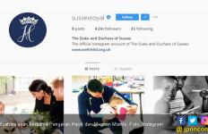Akun Instagram Pangeran Harry dan Markle Pecahkan Rekor Paus Fransiskus - JPNN.com