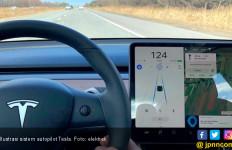 Sistem Autopilot Tesla Bisa Deteksi Lubang di Jalan - JPNN.com