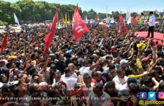 Kampanye Akbar di Kupang, Jokowi: Saya Cinta NTT - JPNN.com