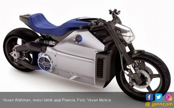 Motor Listrik Voxan Andalkan Max Biaggi Pecahkan Rekor Darat Saat Ini - JPNN.com