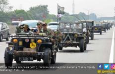 Pencinta Jeep Willys Berbagi Kebahagiaan ke Korban Tsunami Banten - JPNN.com