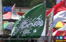 Nahdliyin Protes, Kampanye Terbuka Sandiaga Uno Pakai Bendera NU - JPNN.com