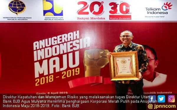 Bank BJB Raih Penghargaan Korporasi Merah Putih Anugerah Indonesia Maju - JPNN.com