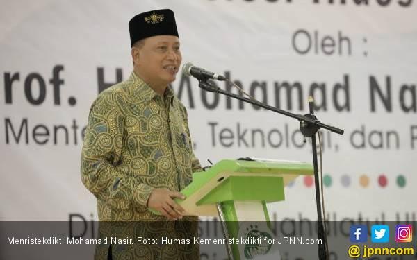 Menteri Nasir Ingatkan Sarjana Jangan Ngebet jadi PNS - JPNN.com