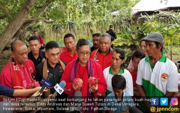 Petani Maumere Akui Sangat Terbantu dengan Pembangunan Infrastruktur di Era Jokowi - JPNN.com