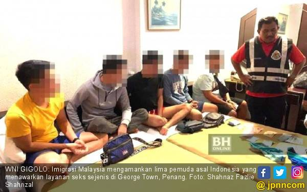 Imigrasi Malaysia Bekuk 5 WNI PSK Sesama Jenis - JPNN.com