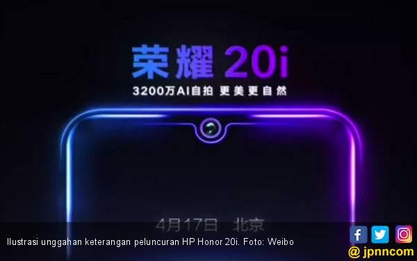 Segera Dirilis, Honor 20i Andalkan Kamera 32 MP Berteknologi AI - JPNN.com