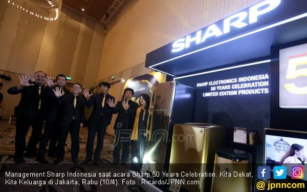 Jelang Usia Emas, SHARP Indonesia Makin Manjakan Konsumen - JPNN.com