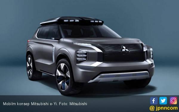 Tampil di Shanghai, Konsep Mitsubishi Engelberg Ganti Nama - JPNN.com