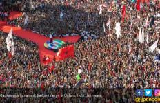 Kampanye Akbar Jokowi - Ma'ruf di GBK, Polisi Siapkan Rekayasa Arus Lalin - JPNN.com