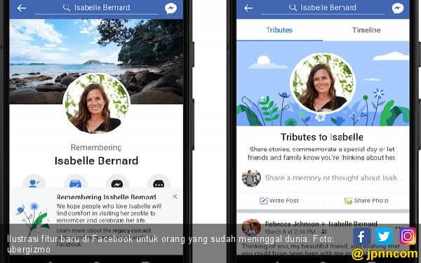 Fitur Khusus, Cara Facebook Hormati Pengguna yang Sudah Meninggal Dunia - JPNN.com