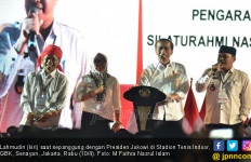 Kades Asal Aceh Bicara Lantang di Depan Jokowi: Merdeka!!! - JPNN.com