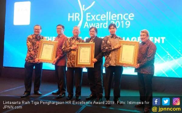 Lintasarta Raih Tiga Penghargaan HR Excellence Award 2019 - JPNN.com