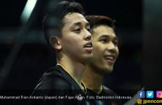 Thailand Open: Fajar/Rian Lega Bisa Bayar Utang ke Ganda Jepang - JPNN.com