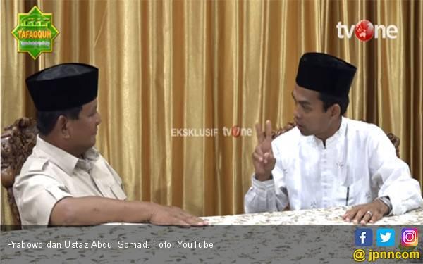 Bisa Jadi Jokowi Menangis Jika Lihat Video Prabowo dengan Ustaz Abdul Somad - JPNN.com